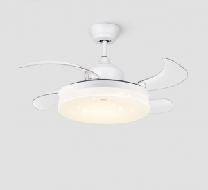 Quạt trần có đèn LED là sự kết hợp giữa quạt trần và hệ thống chiếu sáng