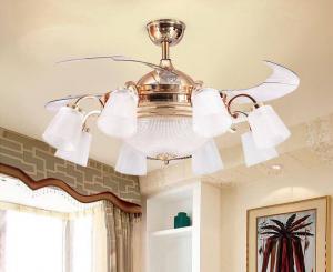 Ưu tiên lựa chọn quạt trần phòng khách phù hợp với diện tích không gian