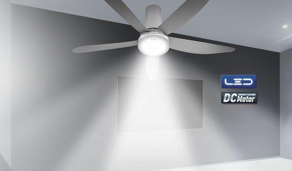 Khả năng chiếu sáng của quạt trần đèn hãng Panasonic rõ ràng
